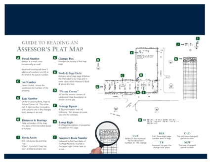 How to Read a Plat Map, click to view PDF