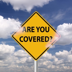 Are you covered risk insurance warning sign